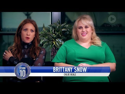 Brittany Snow, Rebel Wilson & Ruby Rose Talk 'Pitch Perfect 3' | Studio 10