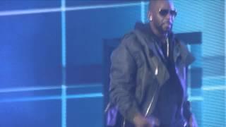 Chris Brown Video - Trey Songz Chris Brown, R. Kelly BetweenTheSheetsTour Your Bodys Callin, Bump N Grind Remix pt. 30