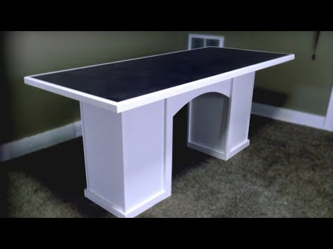 Make A DIY Dining Room / Kitchen Table - Cheap and Simple