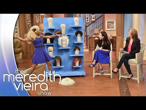 'Big Wig Surprise' With Kristin Davis! |  The Meredith Vieira Show