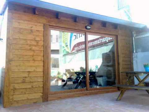 Cerramientos de terrazas en madera 4 youtube - Terrazas de madera ...
