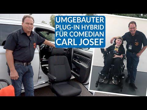 "Ratgeber Handicap#9 - Comedian Carl Josef - umgebauter Mitsubishi aus ""Luke! Die Greatnightshow"""
