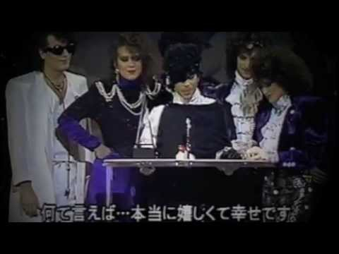 Prince Dominates The American Music Awards 1985 video