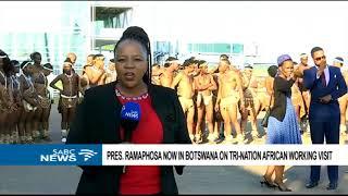 UPDATE: President Ramaphosa visits Botswana