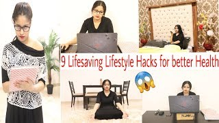 Fit रहने के जबरदस्त Tips|9 Bodycare Lifestyle hacks for better life School,Collage,Office|BeNatural