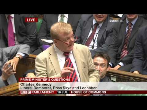 Charles Kennedy and David Cameron misrepresenting Juncker
