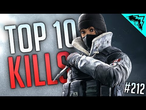 SIEGE REACTIONS - Top 10 Plays Rainbow Six Siege - WBCW #212 (Siege Top 10 Kills of the Week)
