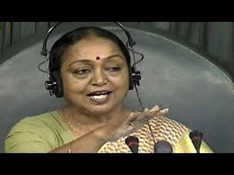 "BJP's ""No Confidence Motion"" On Speaker Meira Kumar"