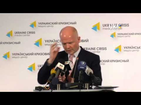 William Hague. Ukrainian Сrisis Media Center. May 7, 2014