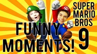 Funny Moments - Super MARIO Bros #9