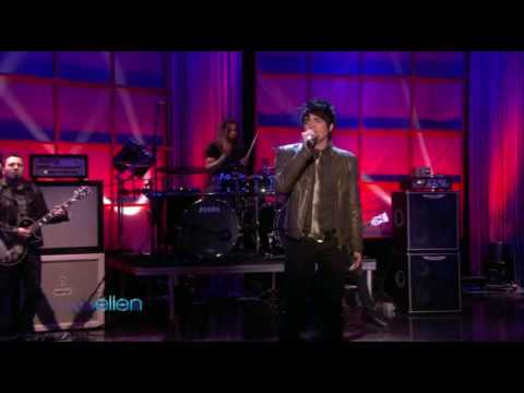(HQ) Adam Lambert - Whataya Want from Me (Ellen) Video