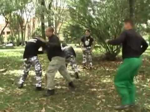Mass attack - systema training in the park боевые искусства Image 1