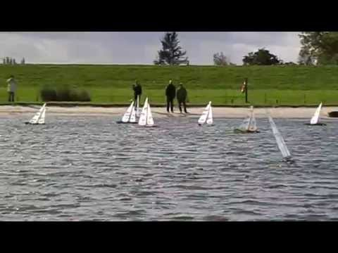RC Sailboat Race from IOM - German Championship 2008