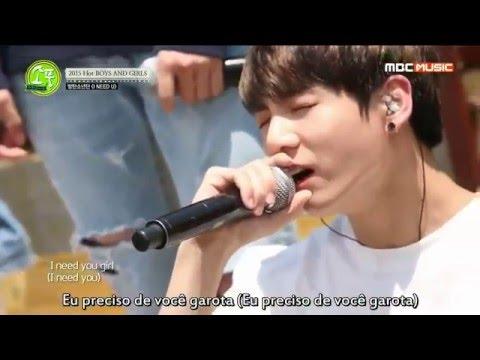 BTS - I NEED U Picnic  MBC Legendado PT-BR