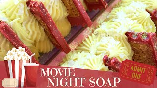 Making Of Hot Buttered Popcorn Cold Process Soap | 🍿 🎟 GYPSYFAE CREATIONS