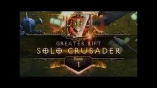 Diablo 3 | GR127 Solo Crusader | Rank 1  (Condemn)