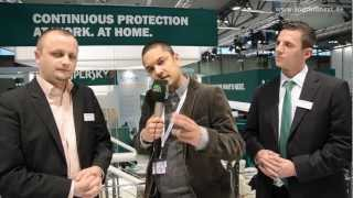 Kaspersky Mobile Security - Marco Preuß und Thomas Hunger Interview - CeBIT 2012 - androidnext.de