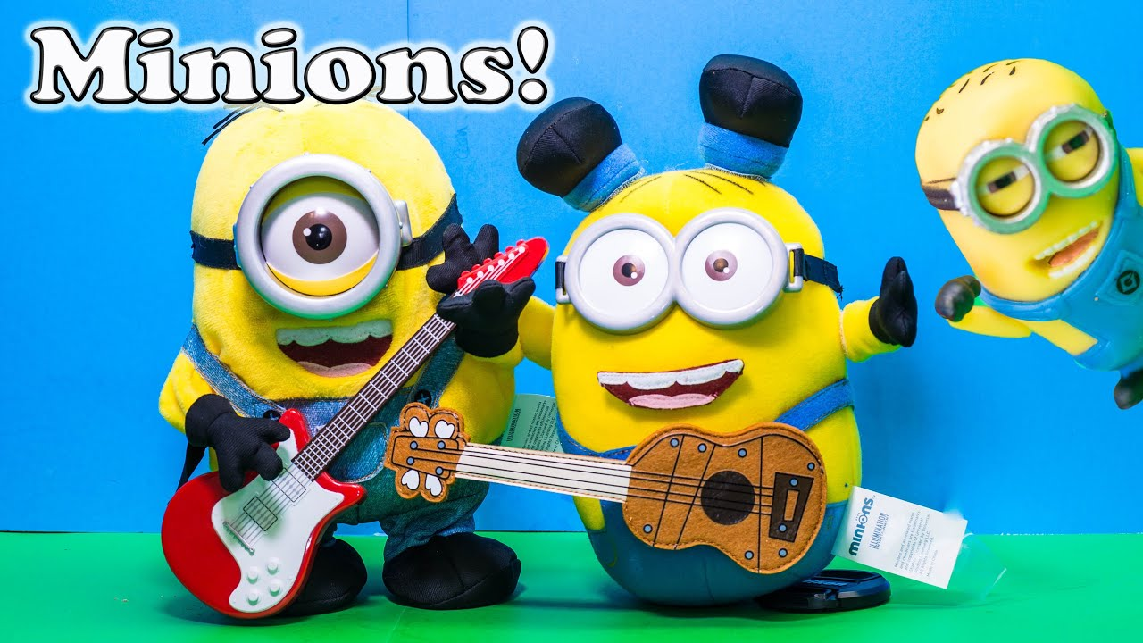 Minion Stuart With Guitar Guitar Stuart Minion Video