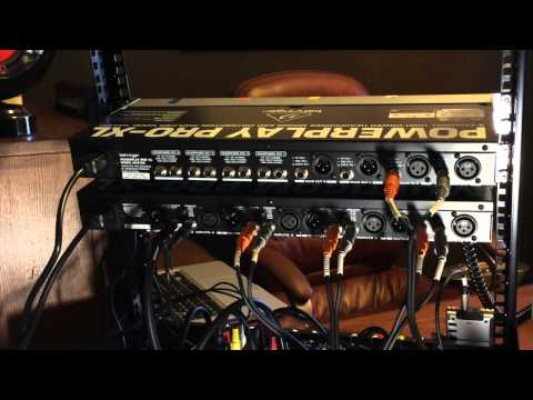 How To Hook Up & Use Behringer HA4700 Headphone Distribution Amplifier Podcast