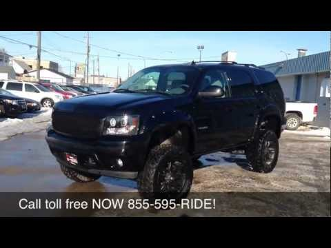 Custom Lifted 2012 Chevrolet Tahoe LT - Ride Time - Winnipeg, MB