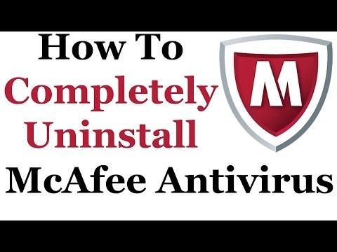 How To Uninstall McAfee Antivirus Plus From Windows 7