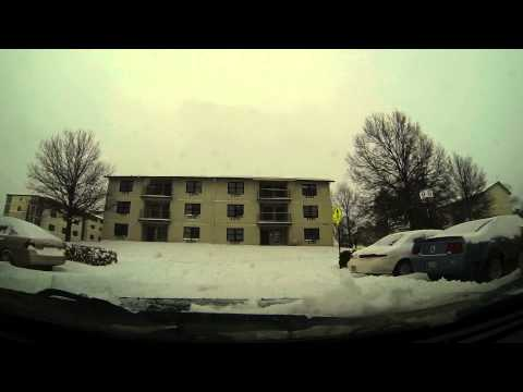 February 21, 2013 Midwest Snow Storm Topeka, Ks