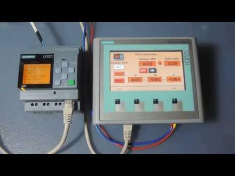 LOGO! 0BA8 and Siemens HMI panel KTP400 Basic