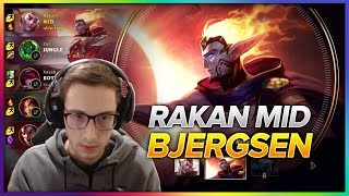 619. Bjergsen Rakan vs Talon Mid - Patch 8.8 Season 8 - BJERGSEN STREAM