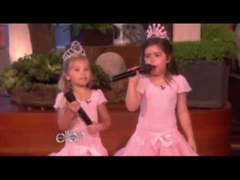 LITTLE GIRLS RAPPING  ELLEN DEGENERES SHOW!!!!!!!!