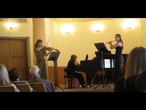 Регер, Макс - Серенада для флейты, скрипки и альта № 2 соль мажор