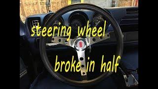 1969 Oldsmobile Cutlass 442 | Muscle Car steering wheel install | vlog 11
