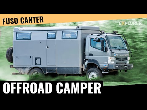 Earth Cruiser FX ■ Test ■ Expeditionsfahrzeug ■ Fuso Canter  ■