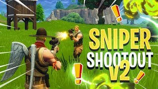 SNIPER SHOOTOUT v2 GAMEPLAY (It's WAY Better) - Fortnite: Battle Royale