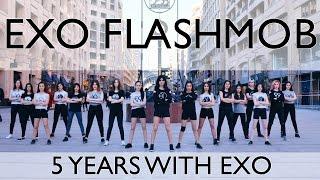 EXO 5th Anniversary Celebration - Flashmob by EXO-L ARMENIA