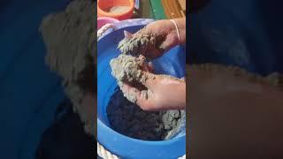 DIY How to Make Kinetic Sand
