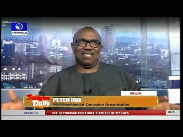 Jega's Tenure: Nigerians Should Listen To Jonathan Only - Peter Obi Pt.2