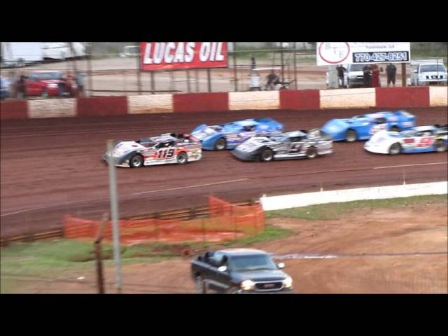Dixie Speedway 6 1 2013 Limited Heat Race