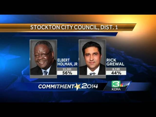 Preliminary results emerge in Stockton races