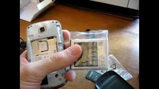 Samsung Galaxy Mini Unboxing