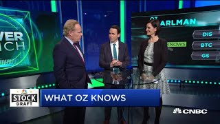 Mentalist Oz Pearlman shows off his CNBC 2019 Stock Draft 'advantage'