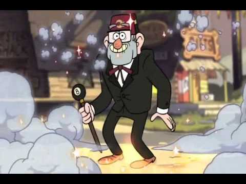 Gravity Falls Season Gravity Falls Opening Backward
