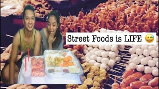 STREET FOOD MUKBANG+ ASK ME A QUESTION (PHILIPPINES)