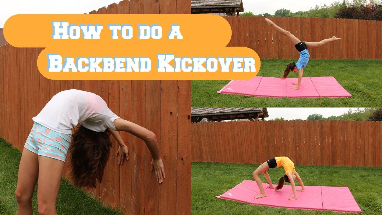 Back bend kick over/Backwalkover tutorial! ️ - YouTube