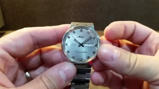 What is a hacking watch movement?