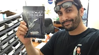 Astronaut Ice Cream From NASA (Freeze-Dried) | Taste Test & Review