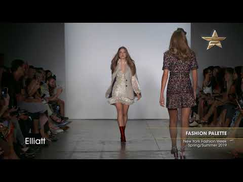 FASHION PALETTE New York Fashion Week Spring/Summer 2019 Part 3