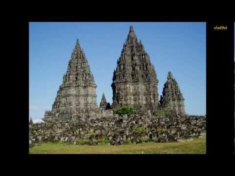 Borobudur Prambanan temples