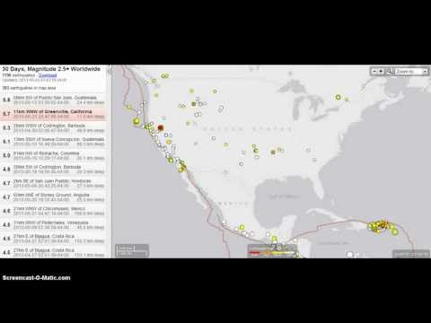 Breaking News: California Major 5.7 Earthquake & Swarm of 50+  Quakes