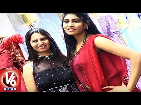 Karan Joshi And Archana Narayana Launches Jewellery & Clothing Store In Hyderabad | V6 News