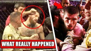 The TRUTH behind Conor McGregor, Khabib Brawling after UFC 229 main event
